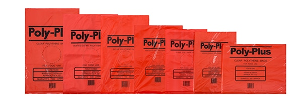 Poly Plus LDPE Vented Bags